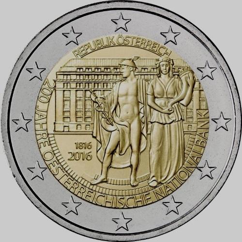 2_euro_commemorativi_austria_2016_200_anni_banca_nazionale