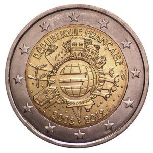 2_€_commemorativo_Francia_10°€_2012