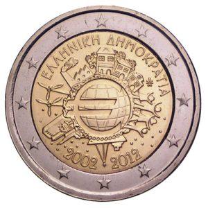2_€_commemorativo_Grecia_10°€_2012