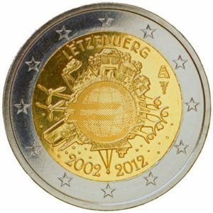 2_€_commemorativo_Lussemburgo_10°€_2012