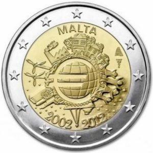 2_€_commemorativo_Malta_10°€_2012