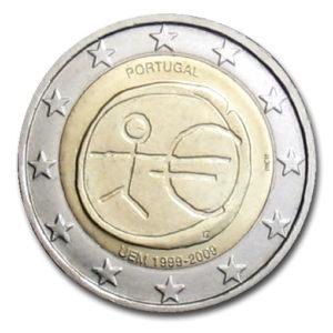 2_€_commemorativo_Portogallo_UEM_2009