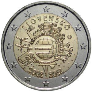 2_€_commemorativo_Slovacchia_10°€_2012