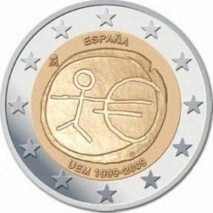 2_€_commemorativo_Spagna_UEM_2009