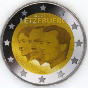 2_euro_commemorativo_Lussemburgo_2011