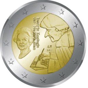 2_euro_commemorativo_Paesi_Bassi_2011