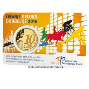Olanda-coincard-10-cent-euro-dime-orange-2016