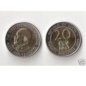 a3085af3e6 Kenya 20 scellini 2005 FDC Uncirculated. 1 ...