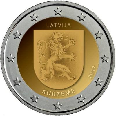 2_euro_commemorativo_lettonia_2017_curlandia