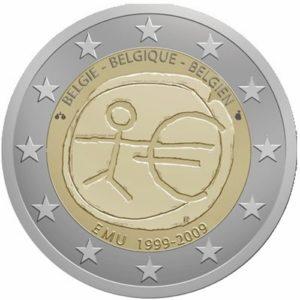 2_euro_commemorativo_belgio_uem_2009