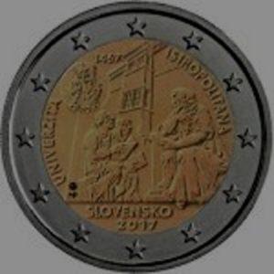 2_euro_commemorativo_slovacchia_2017_Istropolitana