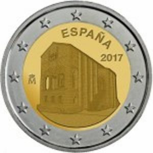 2_euro_commemorativo_spagna_2017_oviedo