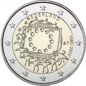 2_€_Olanda_Bandiera_europea