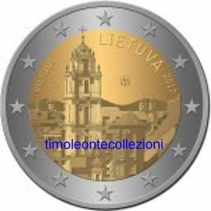 2_euro_commemorativo_lituania_2017_Vilnius