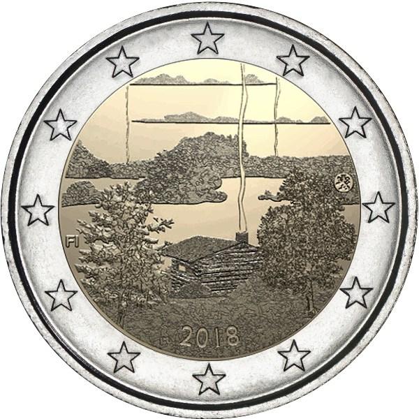 2_euro_commemorativo_finlandia_2018_sauna